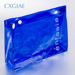 Cheapest Clear Vinyl Pvc Zipper Heavy Duty Clear Plastic Bags With Handles