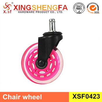 Replacement Set Of 5, 3u0026quot; Office Chair Wheels Heavy Duty Chair Casters  For Hardwood