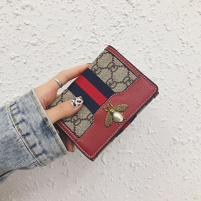 Matte Leather Small Women <strong>Wallet</strong> Luxury Brand Famous Mini Womens <strong>Wallets</strong> And Purses Short Female Coin Purse Credit Card Holder