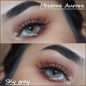 Meetone Aurora Sky Gray Wholesale Korea Natural Colored Contact Lenses