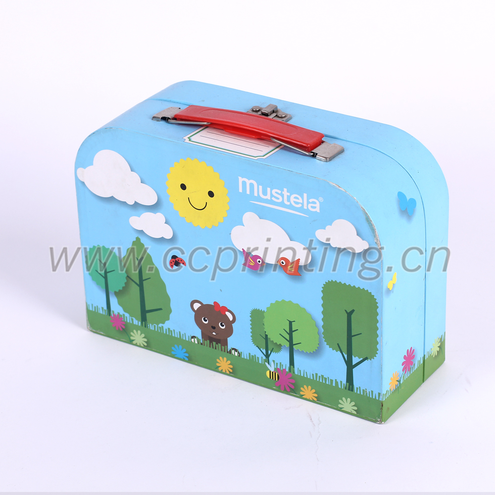 Paperboard Suitcase Children Cardboard Briefcase Buy