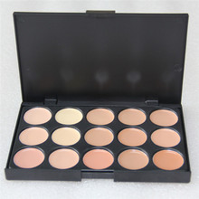 Foundation Cream Highlighter For Face 1pcs Professional 15 Concealer Camouflage Foundation Makeup Palatte
