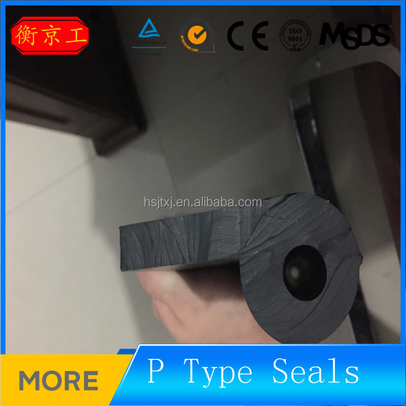 Jingtong P shape/musical note rubber gate seals for waterproof