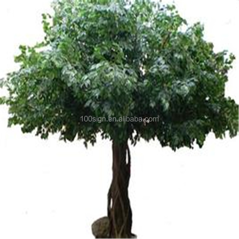 High Simulation outdoor Artificial big Banyan Tree artificial ficus tree