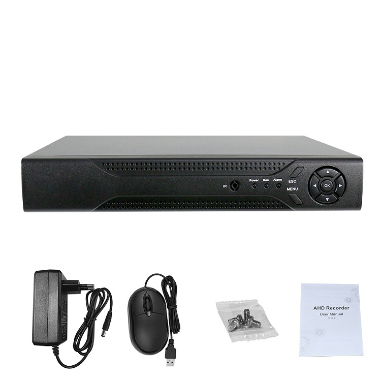 8ch 1080p Standalone Cctv Nvr Recorder H 265 Hdmi Vga Output Video  Surveillance P2p Cloud Function Supported - Buy Cloud Nvr Software,8ch  Nvr,P2p/pnp