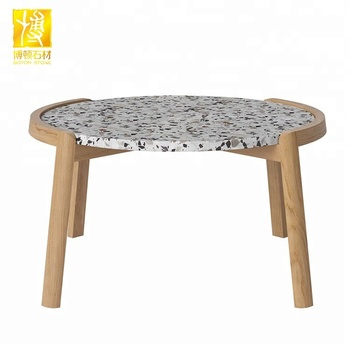 White Terrazzo Small Round Table Tops Ues In Indoor   Buy Small Terrazzo  Table Top,White Round Terrazzo,Indoor Round Table Tops Product On  Alibaba.com