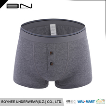 Custom underwear men plus size boxer underwear soft microfiber boxer