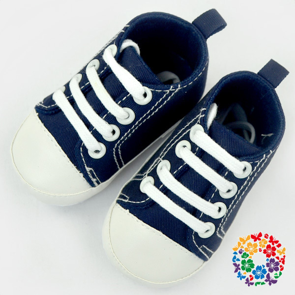 1420b6c191e28 Cute Infant Toddler Baby Boys Girls Kids Soft Sole Shoes Sneaker Navy Shoes  Baby For Party Baby Shoes With Shoelace 2019 - Buy Shoes Baby,Baby Shoes ...