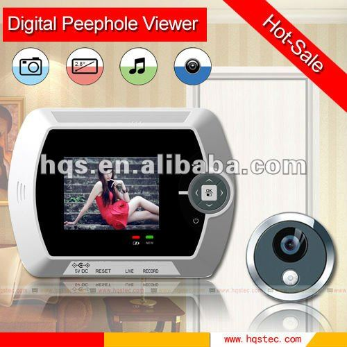 Easy to DIY, Simple and safe operation Digital door viewer peephole