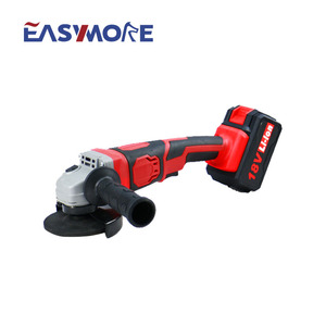 High Quality Power Tools 18v Li-ion Cordless 115mm Angle Grinder with Battery & Charger
