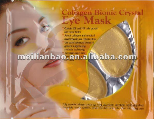 New Hot 24K Nano Eye Patches Skin Care Cosmetic