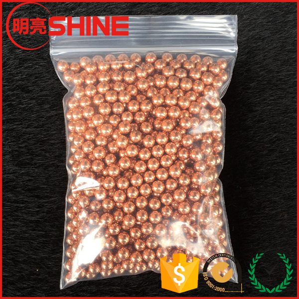 Good Electric Conductive 4.5mm Copper Plated Chrome Steel Ball 4.4mm Bearing Steel Ball