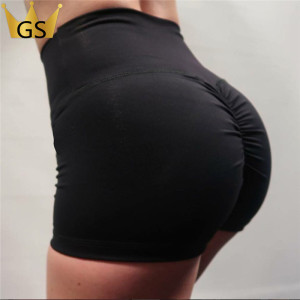 Slim Fit Sportswear High Waisted Yoga Pants Short Scrunch Butt Leggings