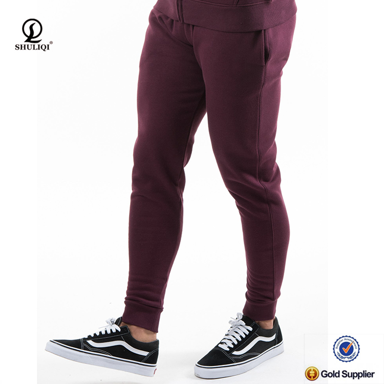 Wholesale mens cargo pants 3XL gym slim soft sweat pants with fitness 100% cotton pants cargo