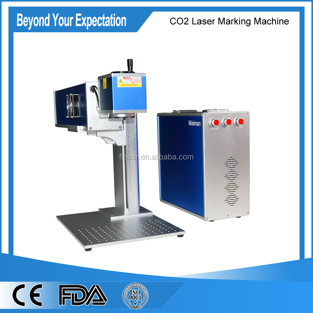 Acctek hot sale china co2 laser marking machine