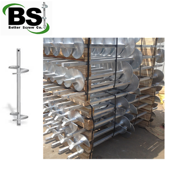 Round Corner Square Bar Helical Piers For Moorings & Bridges - Buy Square  Bar Helical Piers,Solid Square Shaft Helical Piles,38 Mm Solid Square Bar