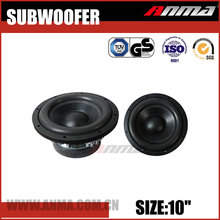 "10"" inch car subwoofer high power car audio speakers subwoofer"