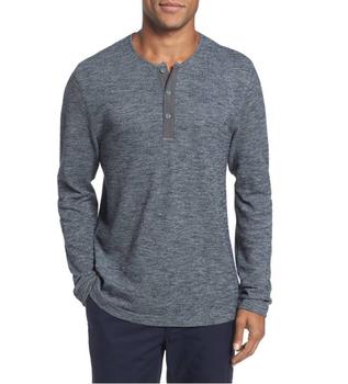 717e5a86b9 Knit Long Sleeve Henley Plain Shirts For Printing Good Quality Basic  Clothing Sportswear Men T-shirt Supply - Buy Men T-shirt,Long Sleeve Henley  T ...