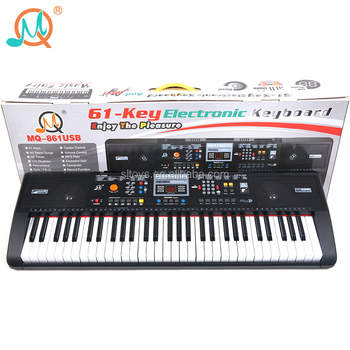 61 Keys Musical Instruments Mp3 Play Digital Electric Keyboard Piano With  Music Stand - Buy Electric Keyboard Piano,Musical Instruments Keyboard