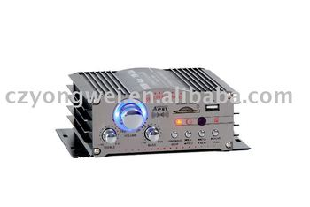 Car Audio usb / Sd `mp3 Reader Auto / Motorcycle 4-channel Amplifier - With  Fm - Buy Car Audio,Amplifier,Car Amplifier Product on Alibaba com