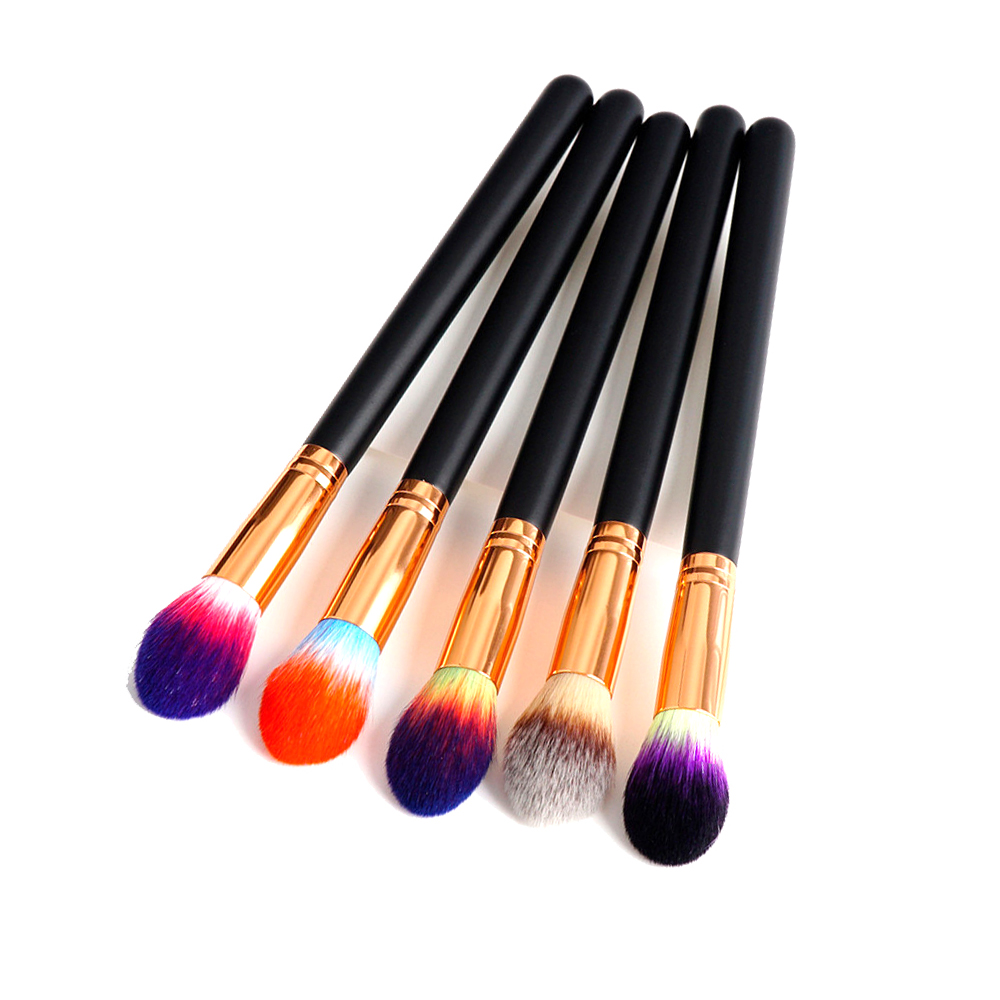 1pc flame top tapered highlight makeup brush foundation powder contour highlighter blending cosmetic brushes tools