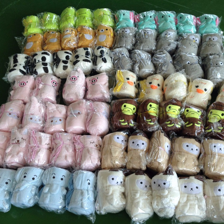 wholesale soft animal plush Fleece baby products blanket