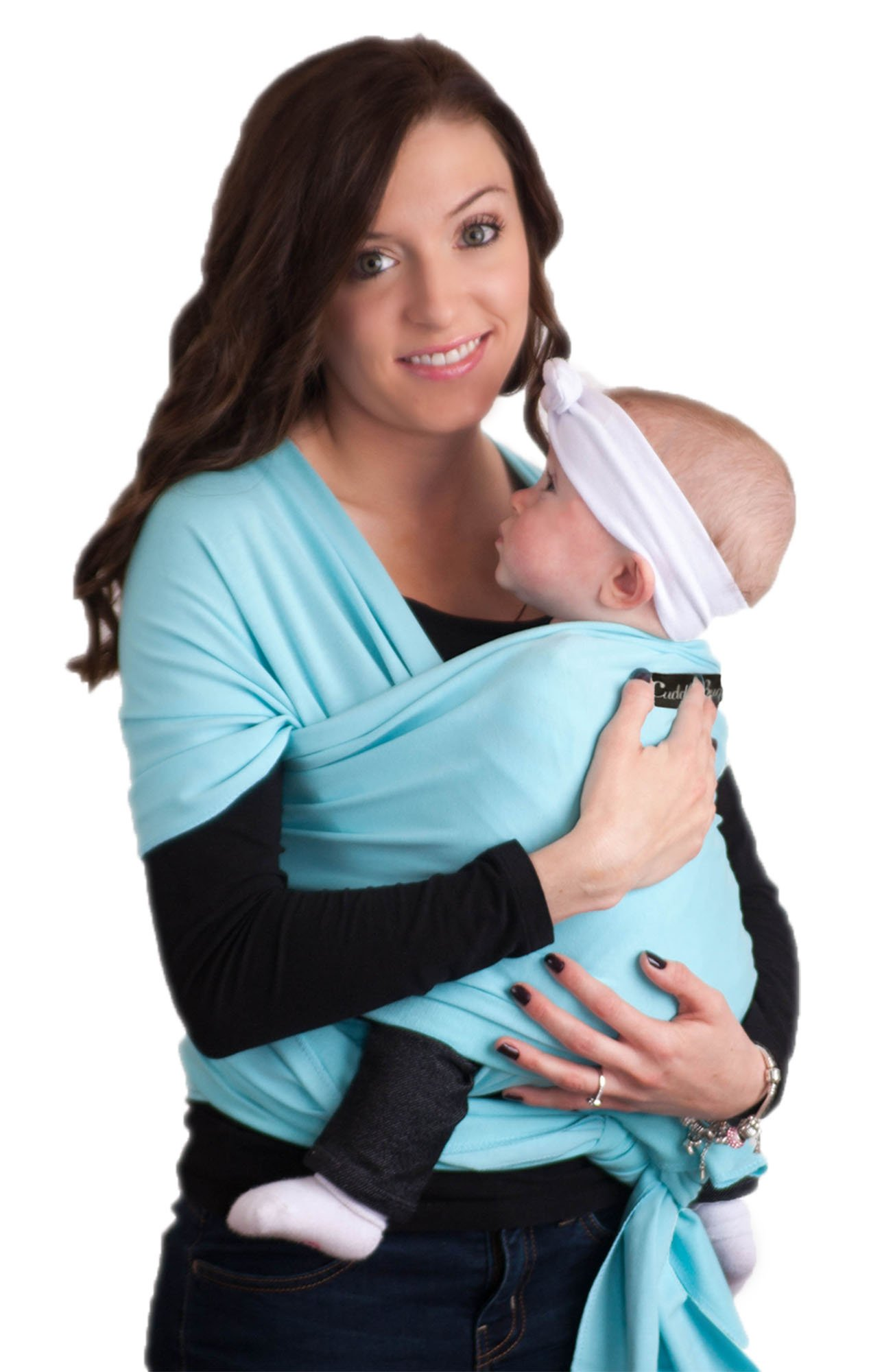 0baf59d7dce Get Quotations · Baby Wrap - Best Baby Carrier by CuddleBug - Available in  9 Colors