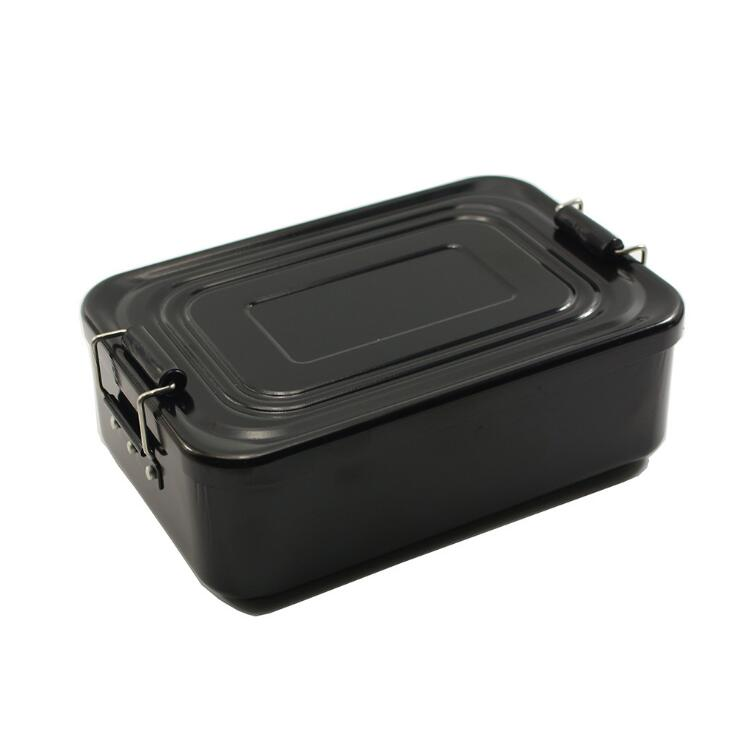 Aluminium Lunchbox Voedsel Fruit Storage Container voor Outdoor Camping Picknick