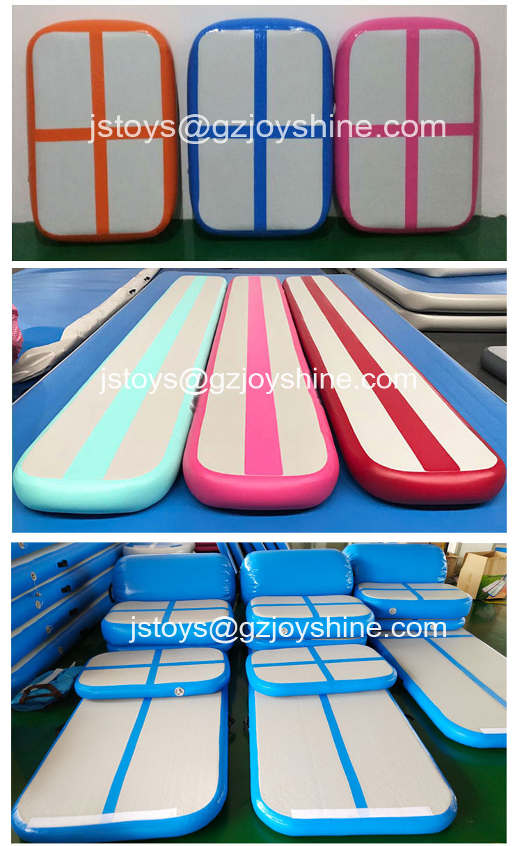 Wholesale Australia Used Inflatable Square Air Track Tumbling Usato Inflatable Air Tumble Factory Prices