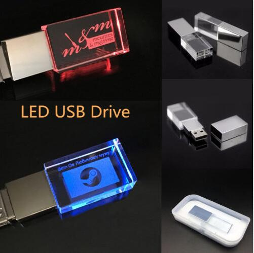 Crystal USB 2.0 Flash Memory Pen Drive for 32gb usb stick