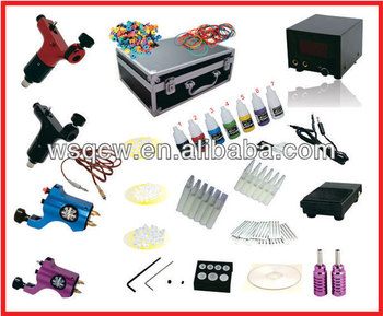Full Set Tattoo Machine Kit With 4 Machines - Buy Tattoo Machine Kit ...