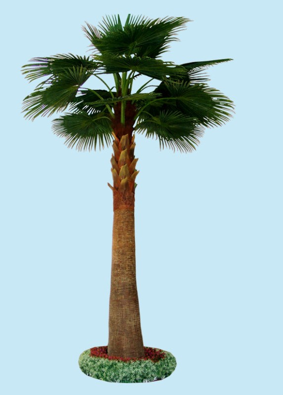 fan palm trees. hot sale fake artificial fan palm trees, high quality decorative for trees