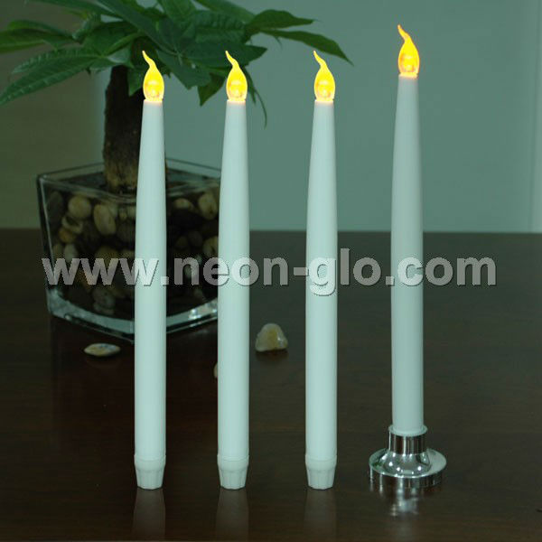 Hot selling Taper candle/battery operated church candles/led taper candles