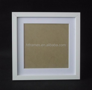 plastic white square photo frames for 8x8 - White Square Frames