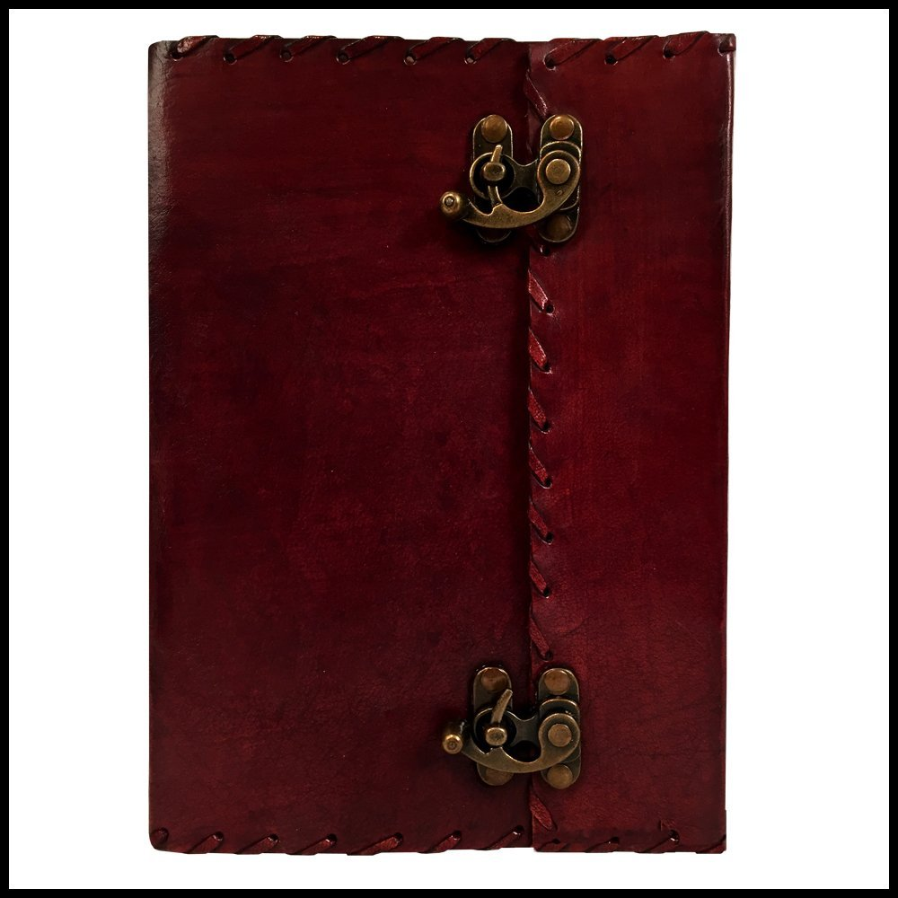 buy leather journal organizer daily planner office book college