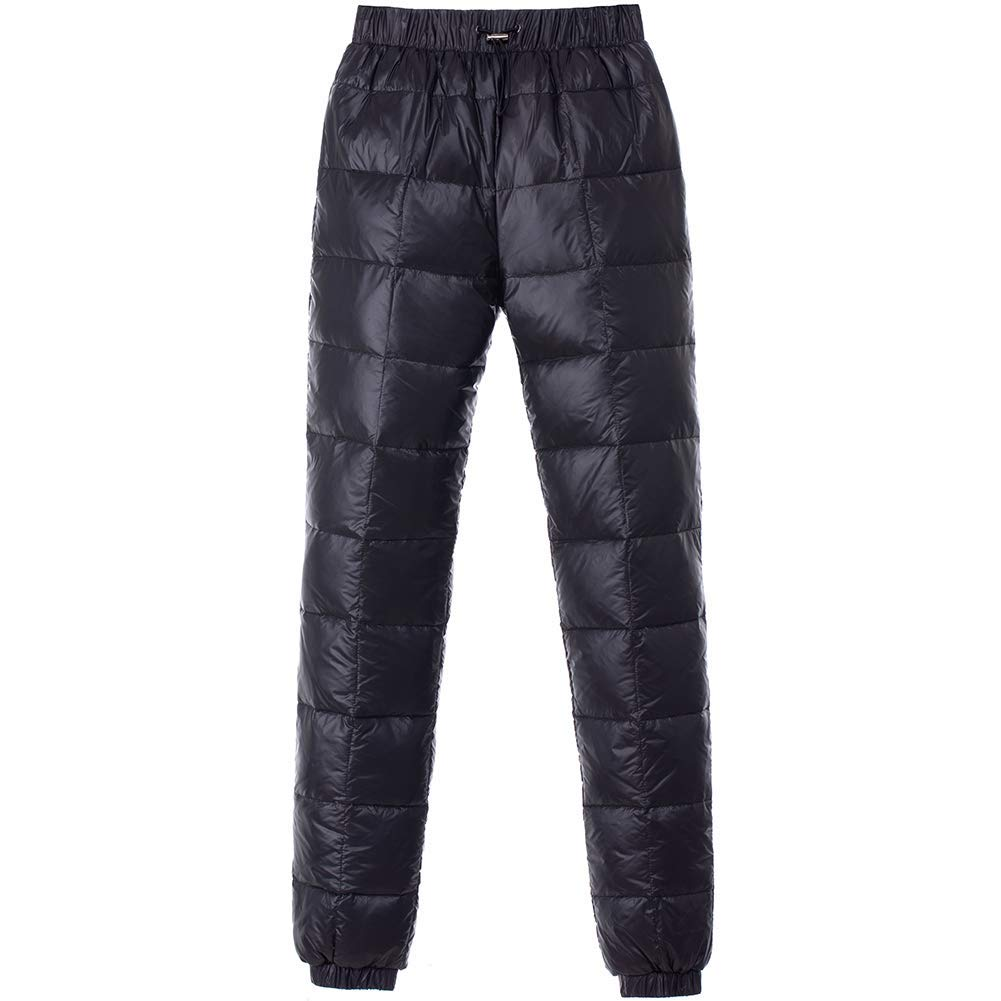 Get Quotations · PANLTCY Men s Winter Warm Utility Down Pants Sassy High  Waisted Nylon Compression Snow Trousers bb5c73d90
