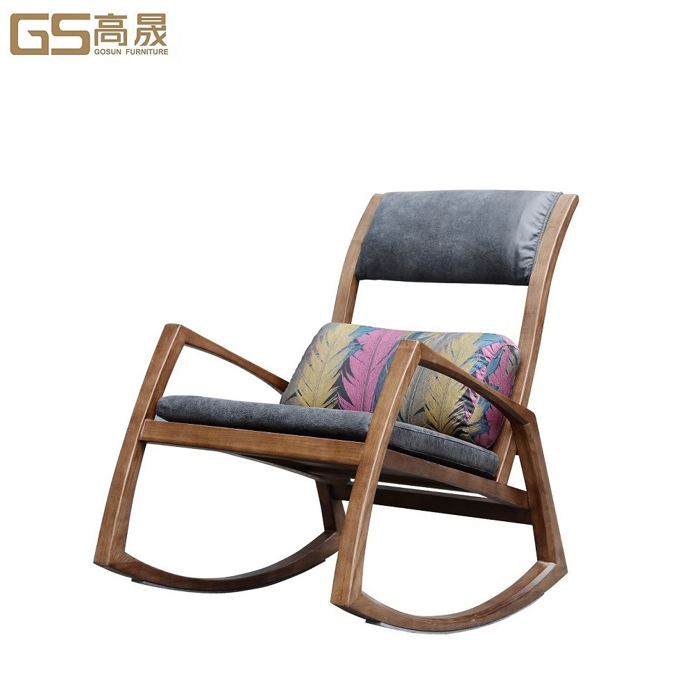 Modern rocking fabric leisure <strong>chair</strong>