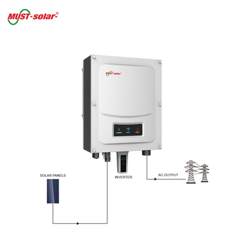 Must Ph5000 Dc To Ac Solar On Grid Tie Inverter Schematic Manufacture on on grid system, on grid wind turbine, on grid solar,