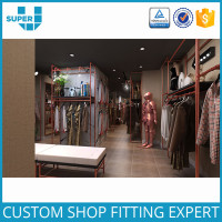 Tailor Showroom Store Furniture Garment Shop Interior Design