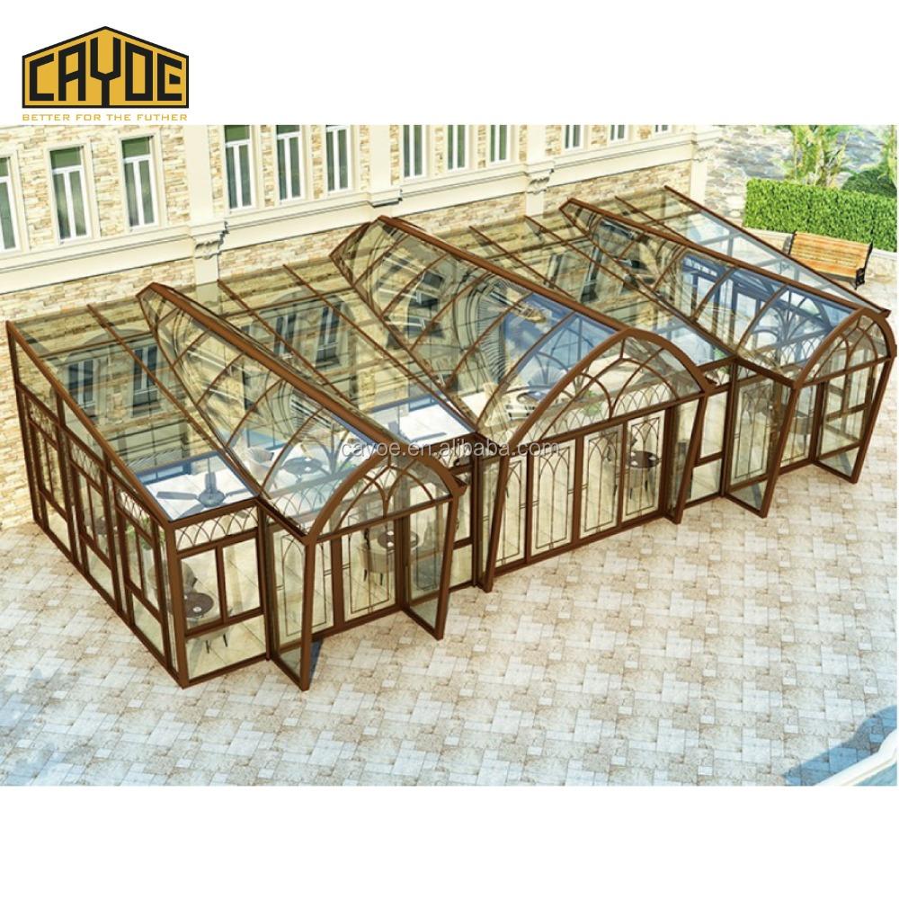 Grosshandel Gehartetes Glas Wintergarten Kaufen Sie Die