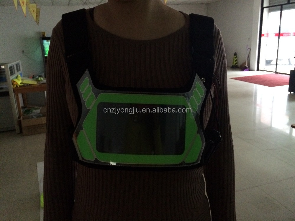 Multi-function high quality safety walk belt with LED light