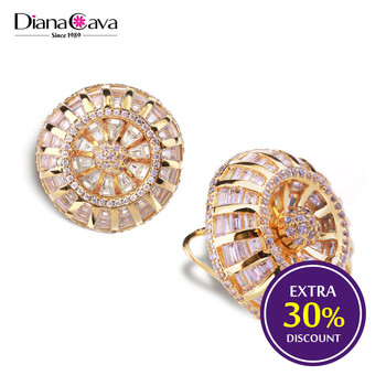 round wheel product stud size detail big setting design channel gold buy earrings white women