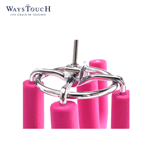 Wholesale high quality multi-function hanger custom anti-slip pink U-shaped space saving hanger