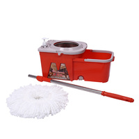 360 hot selling online magic storage cleaning floor mop bucket
