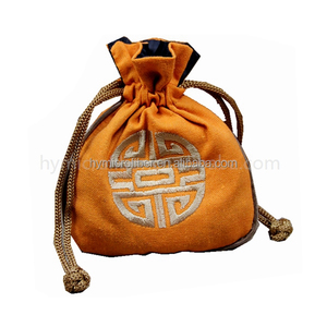 Fancy indian stain jewelry pouch