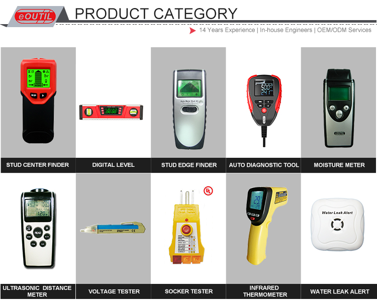 Perangkat deteksi kebocoran air alarm nirkabel dengan CE