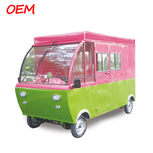 Electric mobile food cart/kiosk/truck/ ice cream cart hot sales