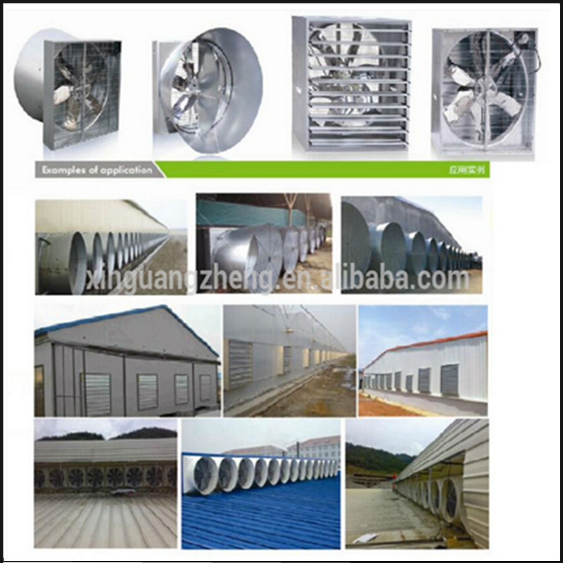 Fast assemble prefabricated steel frame chicken poultry house