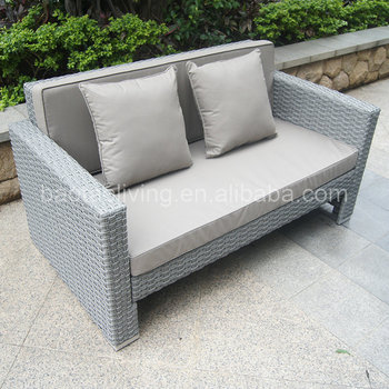 Plastic Rattan Wicker Sofa Set Kd Structure. Classic Style Patio Sofa  Set,Garden Outdoor Furniture - Buy Gray Rattan Wicker Furniture Sofa  Set,Living ...