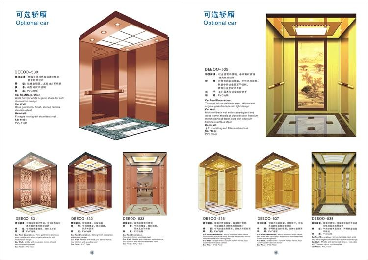 Best price residential elevator 4 person passenger lift for Price of home elevator